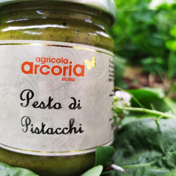 pesto di pistacchio salato