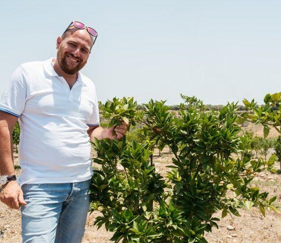 Giosuè, l'agricoltore bio che riduce i consumi