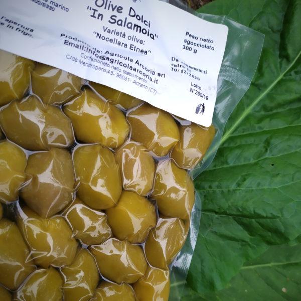 olive dolci in salamoia