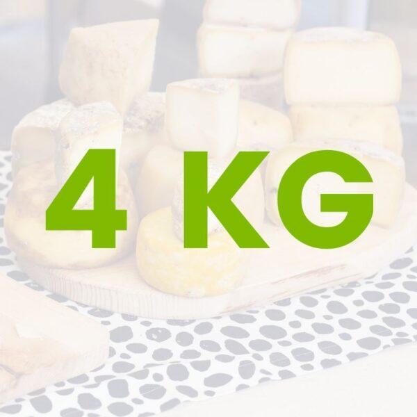 cesta formaggi personalizzata 4kg