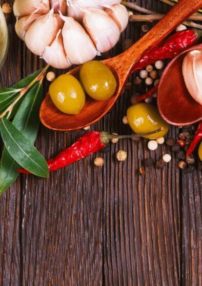 Olive nocellare in salamoia